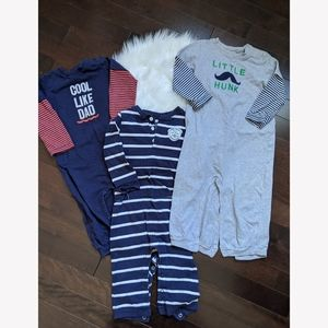 Lot of 3 Carter's pyjamas